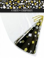 New Years Eve Foil Stamped Party Hats (4)